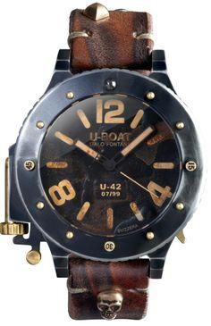 U-Boat Uhr U-42 7093 UNICUM THE VNICVM. Nur 99 Exemplare weltweit!