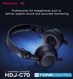 Pioneer DJ headphones boast a large professional fanbase, and the new model is conspicuous in that lineup. Dj Headphones, Professional Dj, Pioneer Dj, Dj Equipment, Headset, Music, Den, Gadgets, Room