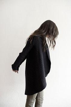 Fab long sweater!