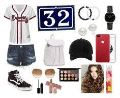 """Supportive Sister #braves #32"" by beddiann ❤ liked on Polyvore featuring Majestic, 3x1, Vans, Aéropostale, Lokai, AK Anne Klein, ROSEFIELD, rag & bone, Chloé and Marc Jacobs"
