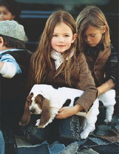 Yep I am going to need a precious little girl like that and that DOG!
