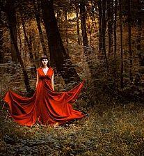 Red curiosity dress.. #dress #fashion
