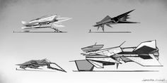 spaceship thumbnails by lewa94.deviantart.com on @deviantART