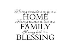 Family Vinyl Wall Decal Wall Quote Saying for by fivestarsigns, $36.00