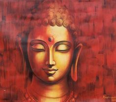 """""""A society based upon peace, harmony, wisdom and compassion is not going to come about unless each person begins with themselves."""" ~ Venerable Khandro Rinpoche ♥ lis Buddha Drawing, Buddha Artwork, Buddha Canvas, Buddha Wall Art, Buddha Zen, Buddha Buddhism, Buddhist Art, Budha Painting, Ganesha Painting"""