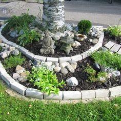 Kuva piha - Jonsulan Pihalla - Jonsula Residential Building Design, Asian Garden, Garden Inspiration, Garden Ideas, Garden Planning, Home Renovation, Backyard, Cottage, Landscape