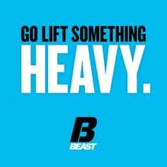 """""""Go Lift Something Heavy. You Fitness, Fitness Motivation, Health Fitness, Inspirational Quotes For Women, Great Quotes, Female Leaders, Quote Board, Sports Nutrition, Weight Training"""
