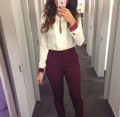 15 Outfits para ser la mejor vestida de la oficina                              …
