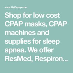 47ca8f250e27 Shop for low cost CPAP masks
