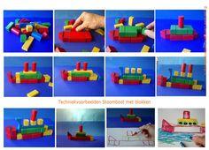 Techniek en tekenen - zie ginds komt de stoomboot Kids Crafts, Strand, Lego, Projects To Try, December, Christmas, Legos, December Daily