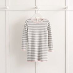 Girls' Heart Motif Knitted Dress | The White Company
