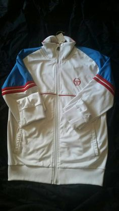 Terrace Casuals  Sergio Tacchini Track top  Small by Backto89