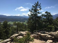 This forested trail to the summit of Evergreen Mountain offers dappled shade and a superb view of the Continental Divide from the top.