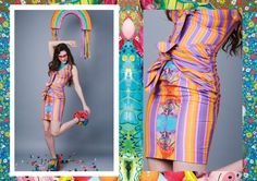 Kite Striped Knot Dress by CiaraMonahan on Etsy