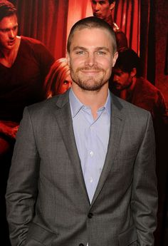 Stephen Amell. So cute