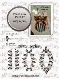 P @ tty Beads: Phone lucky charm