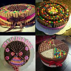 Tortas Decoradas Golosinas, Pirulin, Cupcakes , Galletas