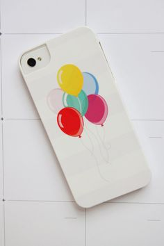 Balloon Phone Case! If it just had a white background I'd be in love