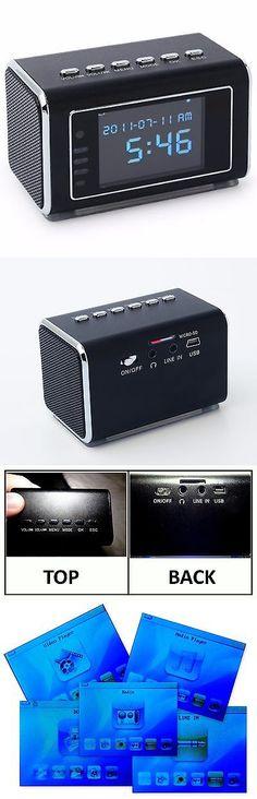 Surveillance Gadgets: Motion Activated- Top Secret Spy Camera Mini Clock Hidden/Covert Audio/Video BUY IT NOW ONLY: $70.31