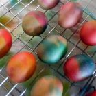 Dying Easter Eggs The Old Fashioned Way