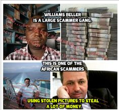 We warn about Scammers on Social Media. Romance for money. Michael Connor, Taylor Jacobs, Facebook Scams, Does He Love Me, Tamela Mann, Brian Rogers, Stolen Image, Frank James, John Ward