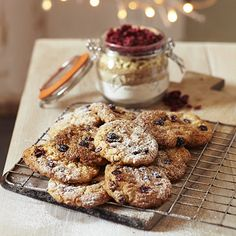 The perfect Christmas gift for bakers - White Chocolate & Cranberry Cookie Mix