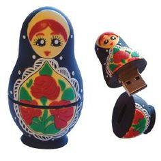 babushka doll flash drive