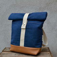 miniAHTI, sininen   Weecos Backpacks, Bags, Fashion, Handbags, Moda, Fashion Styles, Backpack, Fashion Illustrations, Backpacker