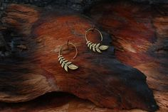 Leaf  ear jewelry