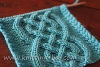 Celtic Cable Knitting Pattern