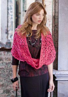 Amaryllis Cowl By Darla J. Fanton - Free Crochet Pattern - (naturallycaron)