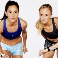 Build Up To Boston - Shalane Flanagan & Kara Goucher | Runners World