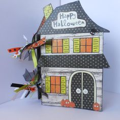 This item is unavailable Halloween Mini Albums, Halloween Scrapbook, Halloween Photos, Halloween House, Happy Halloween, Halloween Cartoons, Mini Books, Journal Inspiration, Seasons