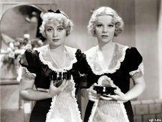 "Joan Blondell  Glenda Farrell in  ""Kansas City Princess"""