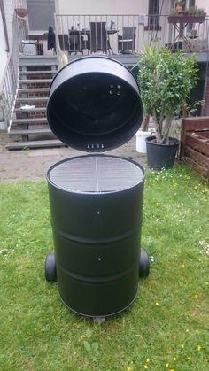 Barrel Grill, Diy Smoker, Oil Drum, Rocket Stoves, Barbacoa, Barrels, Bbq Grill, Grills, Oven