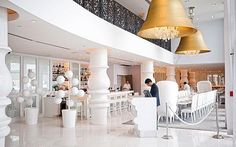 Mondrian, Miami, USA. Designed by Marcel Wanders. One of the best interior designes ever seen in a hotel. Stunning, would rebook in a heart beat.