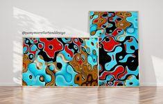 Yamy Morrell Art & Design: Diptico Abstracto: Golden Coast Jimi Hendrix, Golden Coast, Retro, Illustration, Giclee Print, Saatchi Art, Digital Prints, Painting, Photo And Video