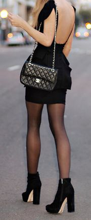 love the outfit and of course chanel <3