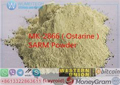MK-2866 Ostarine SARM Powder Raws Strong Lean Muscle Builiding Bulking GW-501516.MK2866, Ostarine, MK-2866, Enobosarm.MK2866, Ostarine, MK-2866, Enobosarm.MK-2866 Ostarine help you with Increased lean mass gains Better strength More endurance Joint healing abilities Anabolic (even at doses as low as 3 mg).Usage of Ostarine MK-2866 : Bodybuilding Lean Muscle. less side effect than steroids .Nonsteroidal selective androgen receptor modulator (SARM) used in the treatment of osteoporosis a...