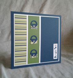 Stampin Up Papier-Träume Ganz schön aufgeblasen  Apfelgrün Gumball Green Mitternachtsblau Midnight Muse