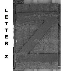 Alphabet Photography Letter Z by LetterBug Designs on Etsy