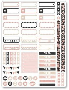 XOXO/Galentine Functional Planner Stickers for Erin Condren To Do Planner, Free Planner, Weekly Planner, Happy Planner, Planner Tabs, College Planner, Journal Stickers, Printable Planner Stickers, Stickers For Planners