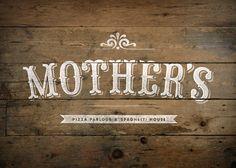 Mother's Pizza Branding. http://jacknifedesign.com