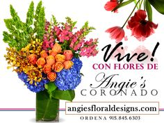 Don't settle for flowers that arrive in a dull box. With Angie's Floral Designs Company, your flowers will be hand-arranged and delivered to El Paso or anywhere nationwide. Our fresh flowers are expertly arranged by our professional florists to give each gift that special, personal touch. Trust Angie's Floral Designs Coronado for bouquets that will brighten their day in El Paso!