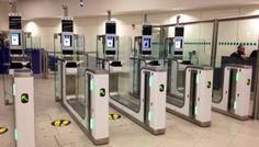 Yüz Tanıma Pasaport Kontrolünün Yerine Geçiyor #havalimanı#yüztanıma#teknoloji