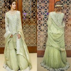 Beautiful Fully Embroidered Chiffon Dress! #FAS For Making Look So Good! #HiraBleeh #FASDesignStudio #AyeshaIjazPhotography #PakistaniCouture #PakistaniFashion #PakistaniActresses #PakistaniModels #PakistaniCelebrities ✨