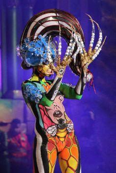 Concurso de Maquillaje Corporal 2015 Carnaval Las Mil y Una Noches de Las Palmas de Gran Canaria.