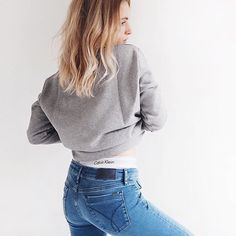 #Calvinklein #underwear #jeans #skinny #blondegirl