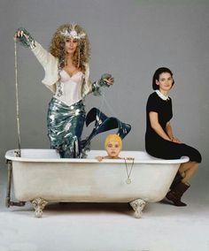 Winona Ryder, Christina Ricci and Cher in Mermaids.