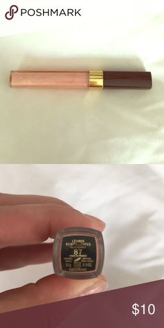 Chanel Lip Gloss Chanel lipgloss # 87. Levres scintillantes glossimer. Tried on once. Cleaned w alcohol. Chanel Makeup Lipstick